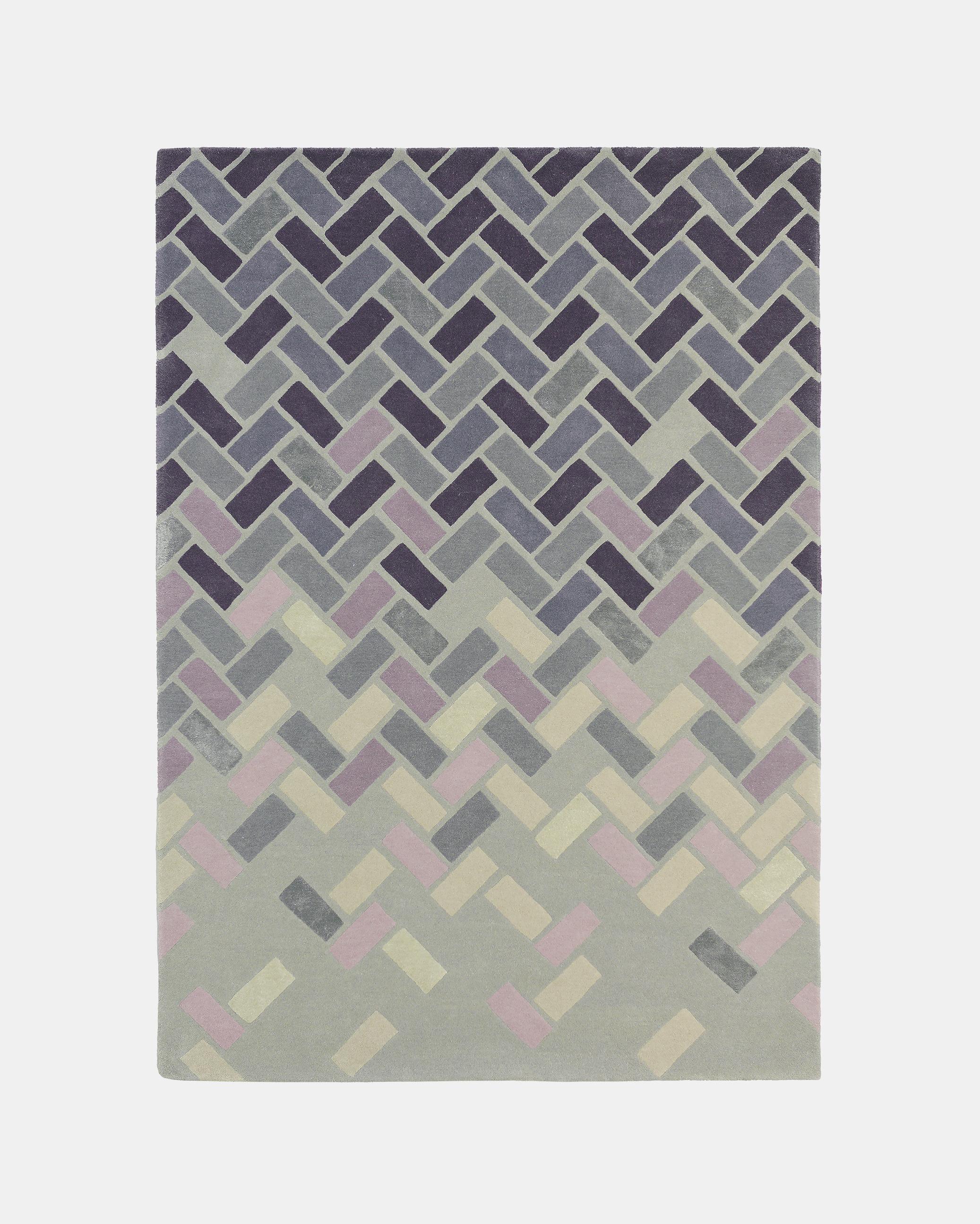 Medium Hand Tufted Wool Rug Grey Netherlands Site