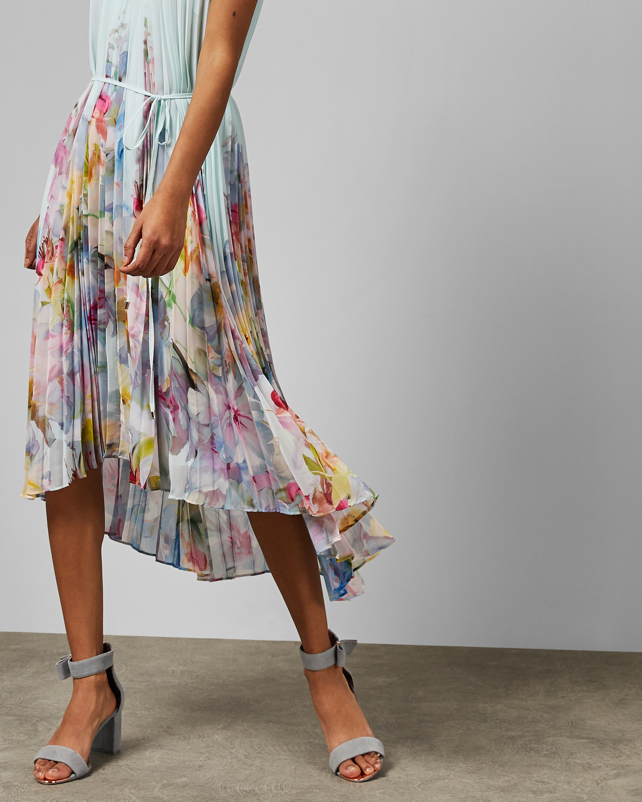 damenmode on tv ted baker florica hanging gardens pleated