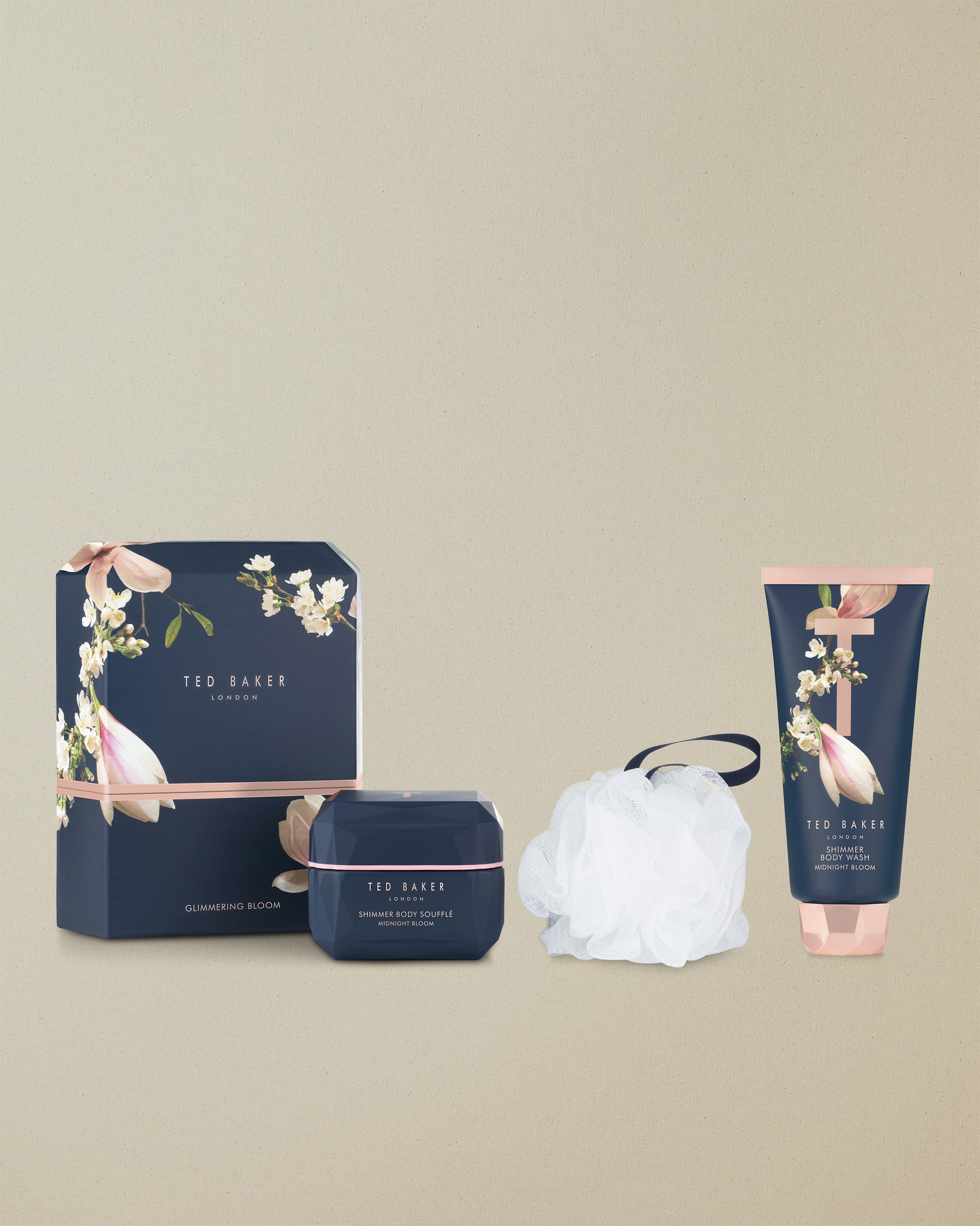 Midnight Bloom Box Gift Set Navy Gifts For Her Ted Baker Row