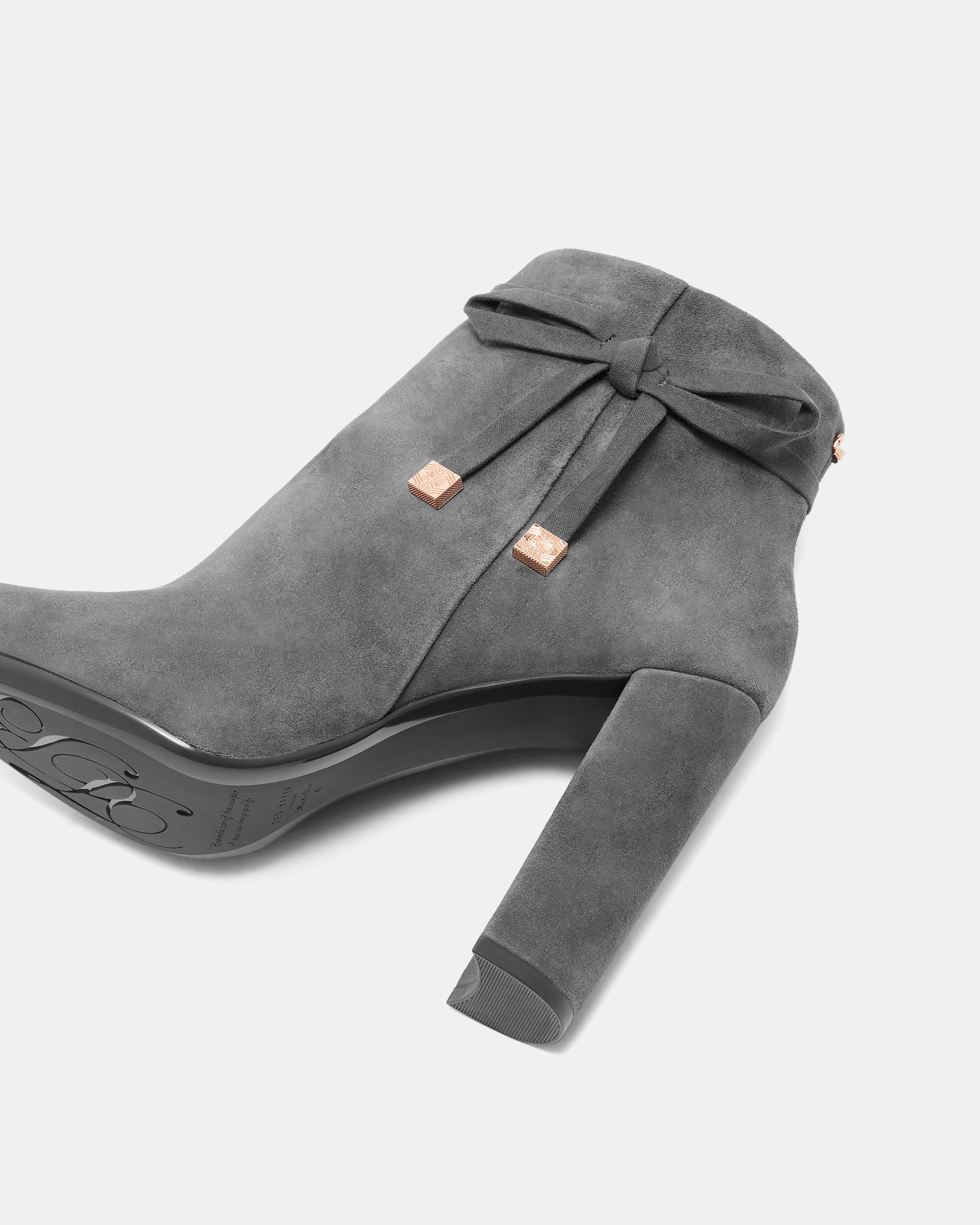 TED BAKER Ted Baker Qatena Suede Bow
