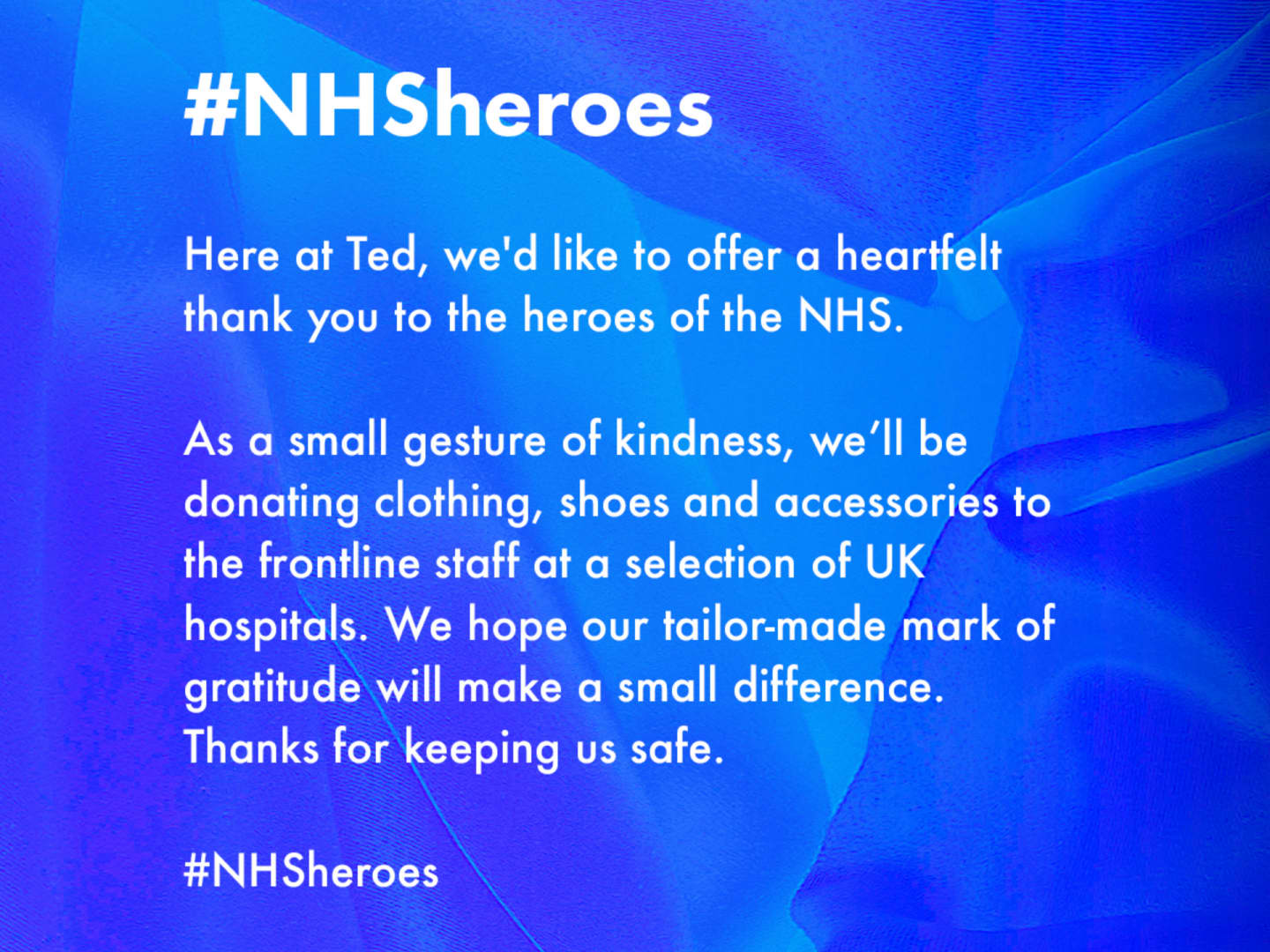 nhs for ted