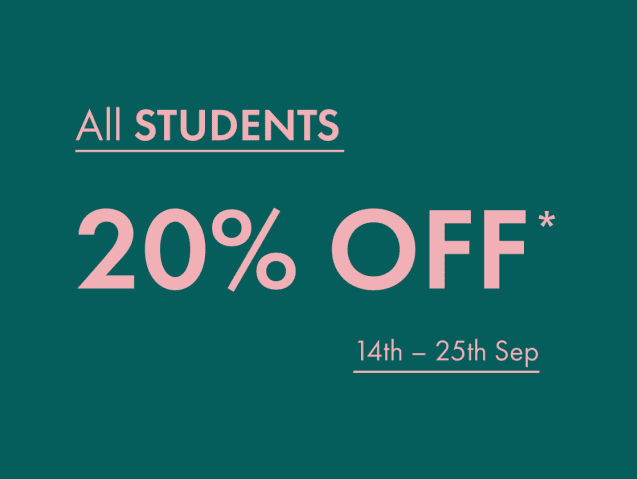 Shop Student Discount