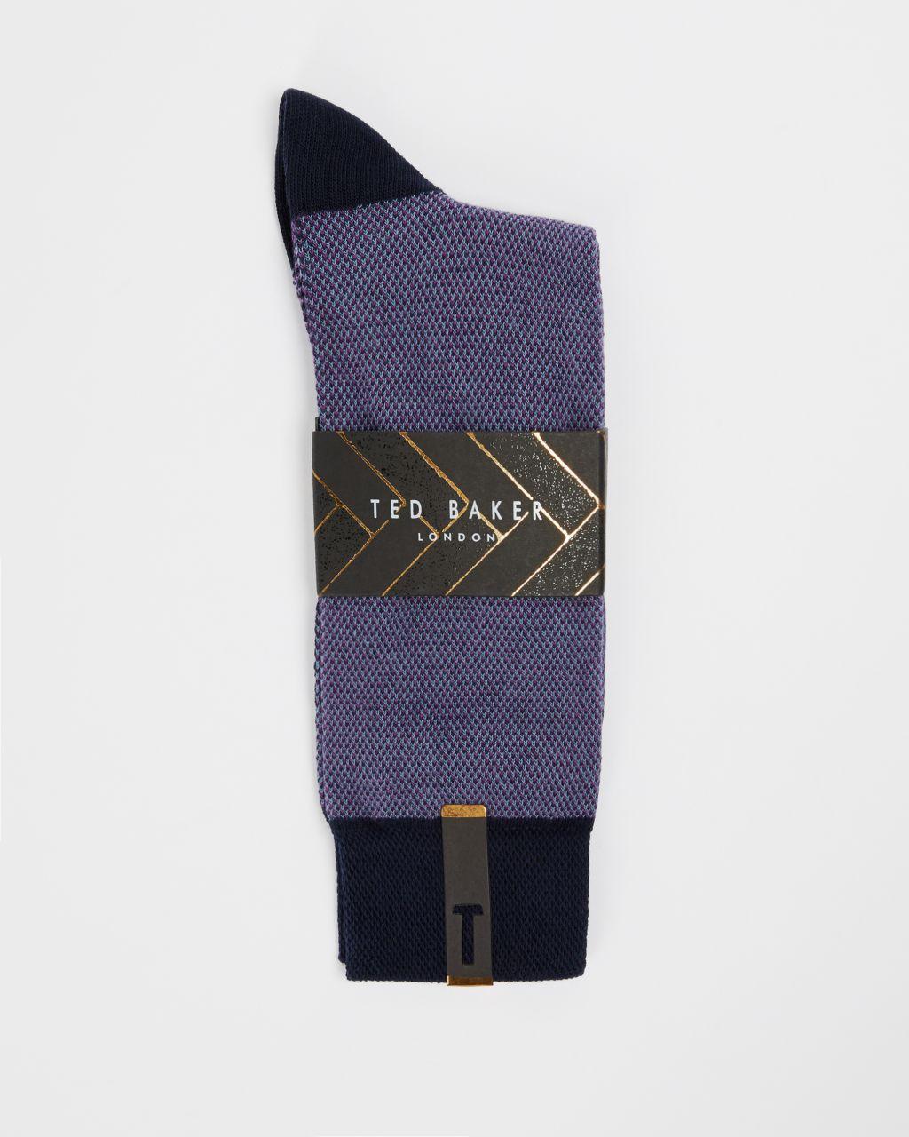 Textured Cotton Socks