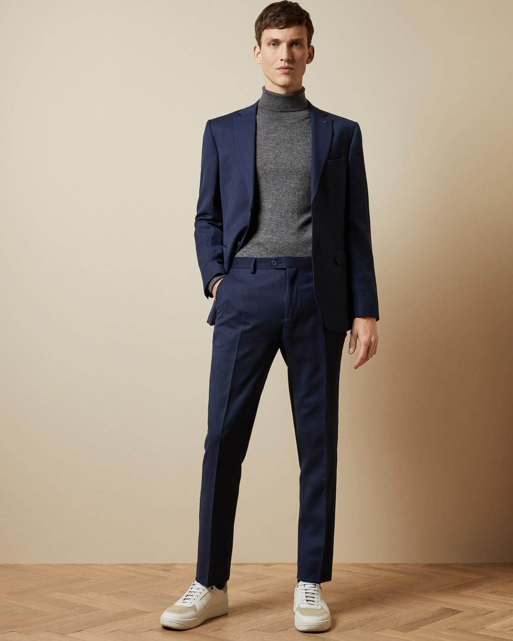 Endurance Two-piece Birdseye Wool Suit