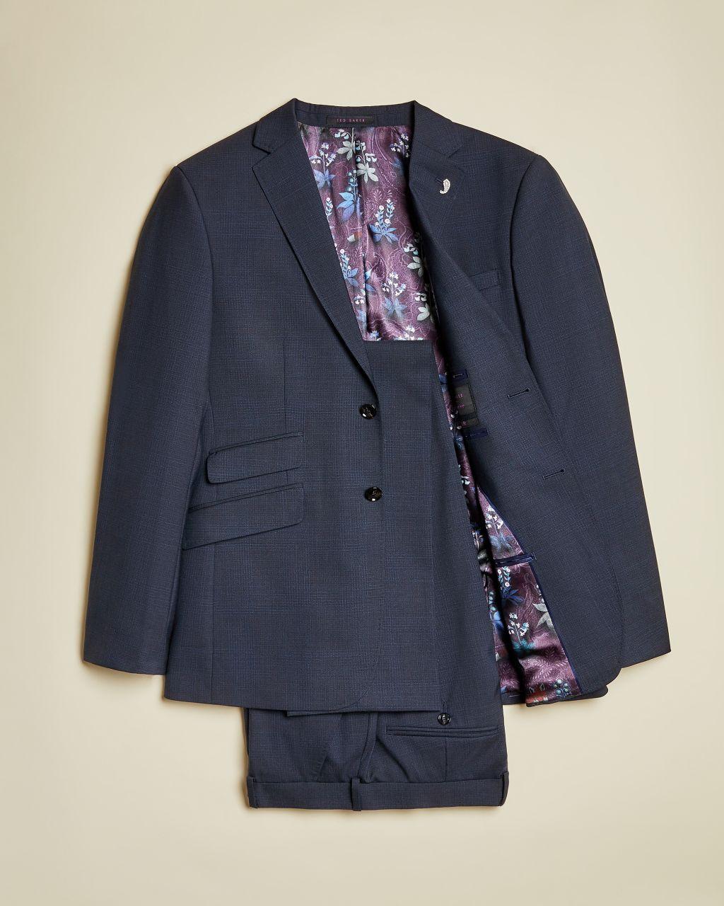 Sterling Subtle Check  Piece Suit