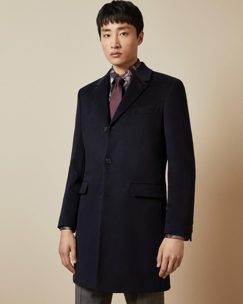 Cashmere Blend Overcoat