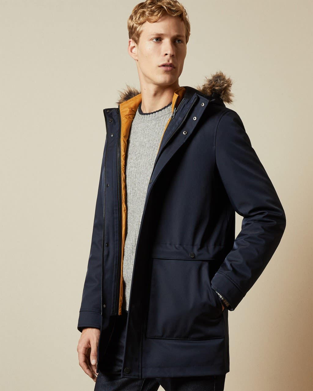 -in- Parka With Hood