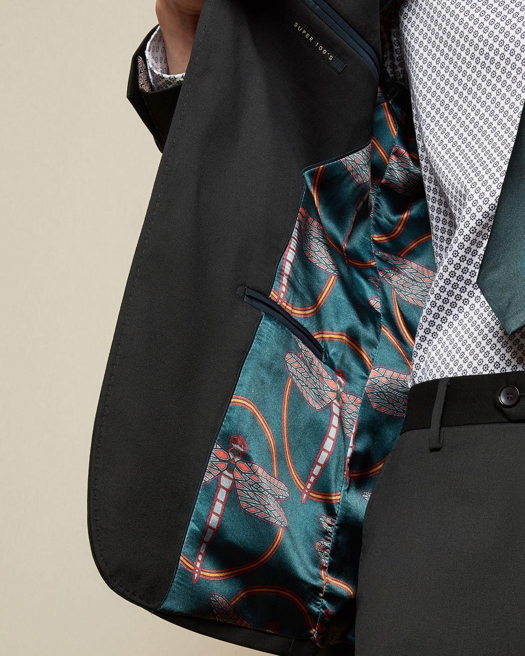Debonair Slim Fit Wool Jacket
