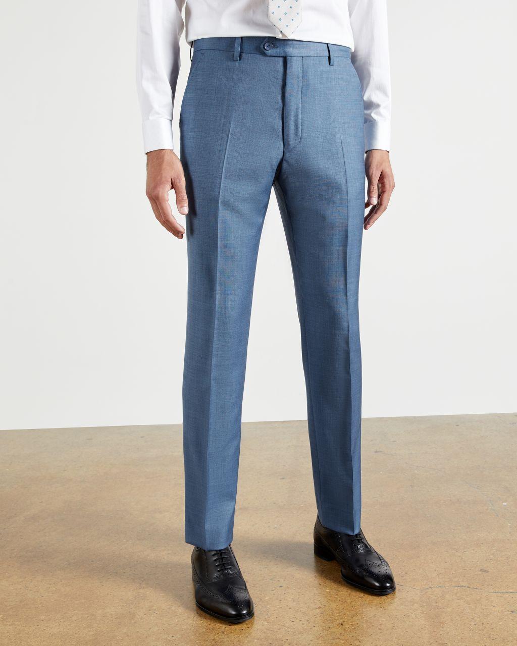 Pantalon De Costume En Laine Debonair