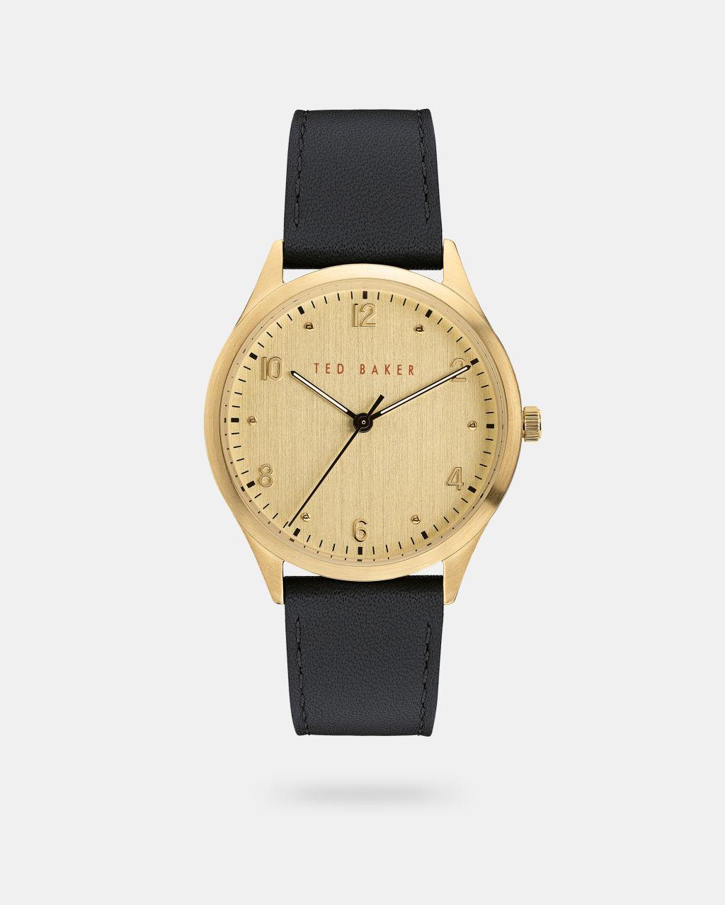 TED BAKER Uhr Mit Granuliertem Lederarmband | TED BAKER SALE