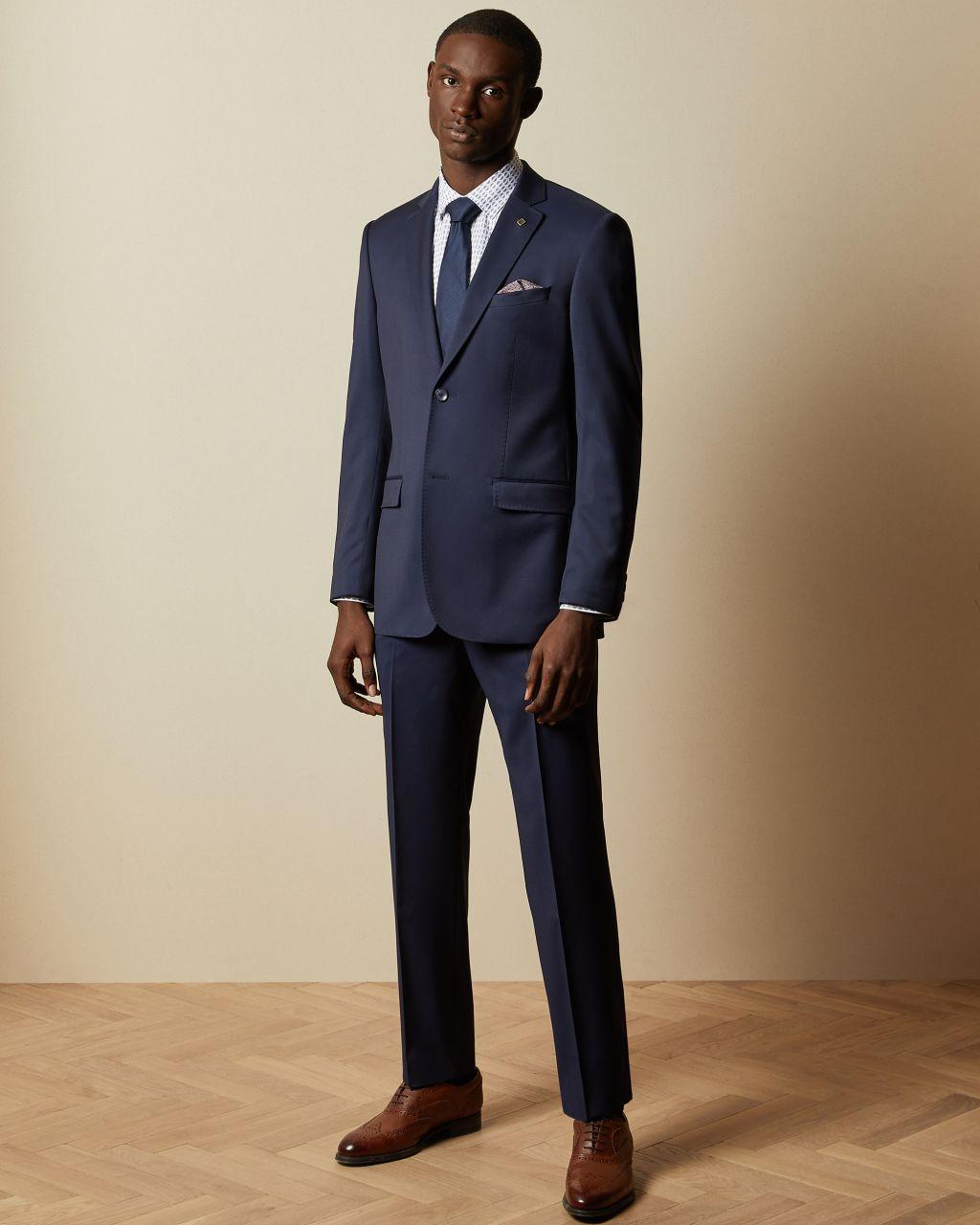 Regular Fit Debonair Wool Suit Jacket