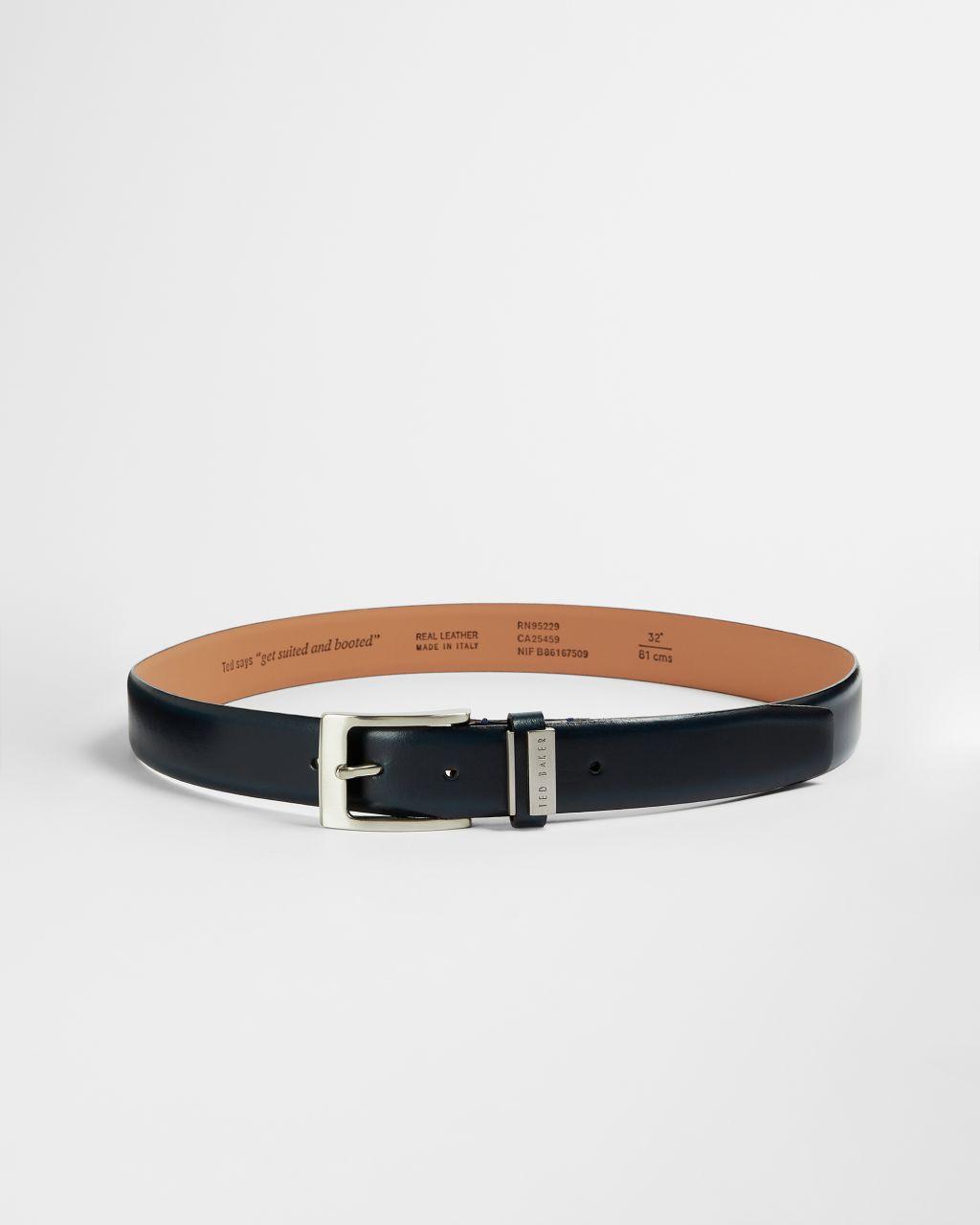 Branded Leather Belt