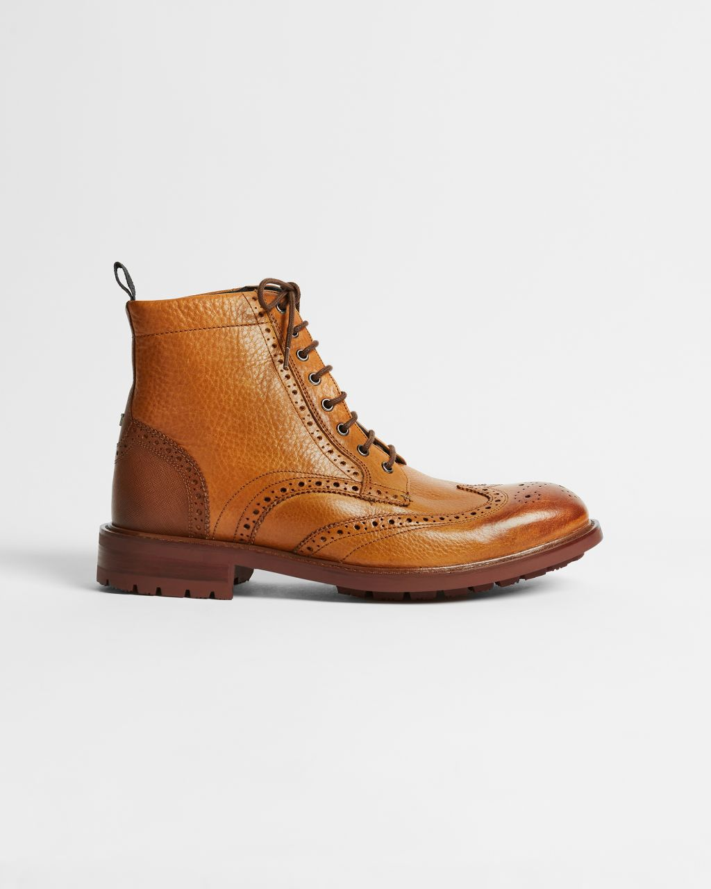 TED BAKER Lace-up Leather Boots   TED BAKER SALE