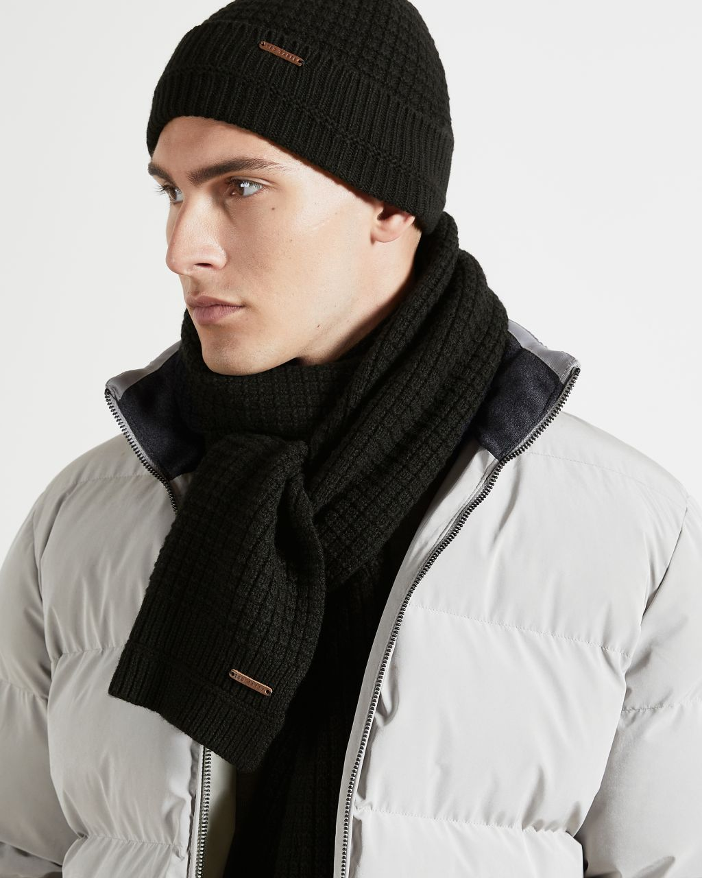 TED BAKER Plain Ribbed Scarf | TED BAKER SALE