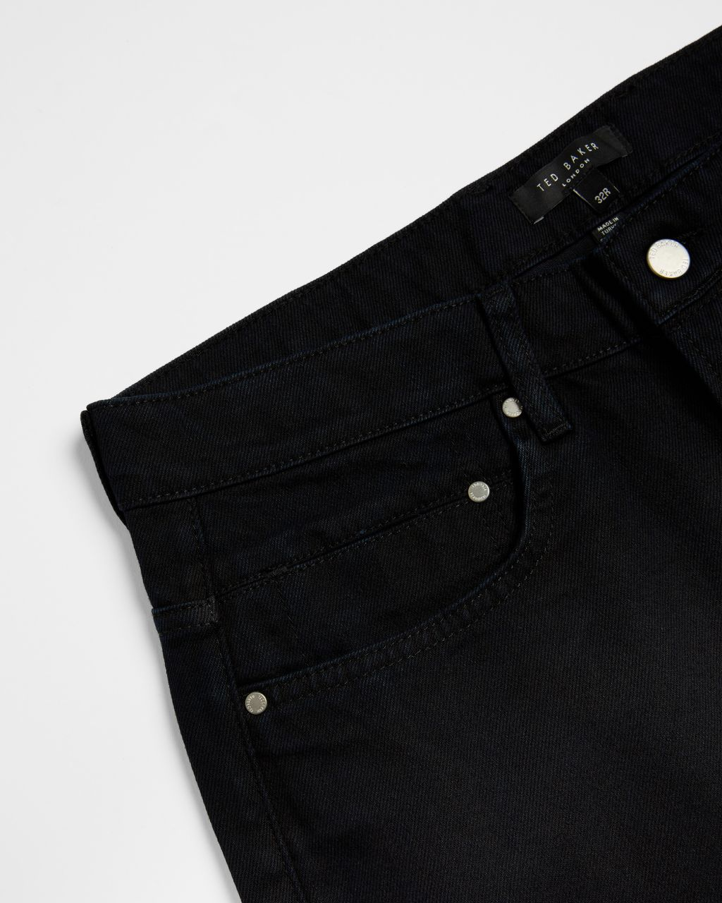 Tapered Leg Denim Jean