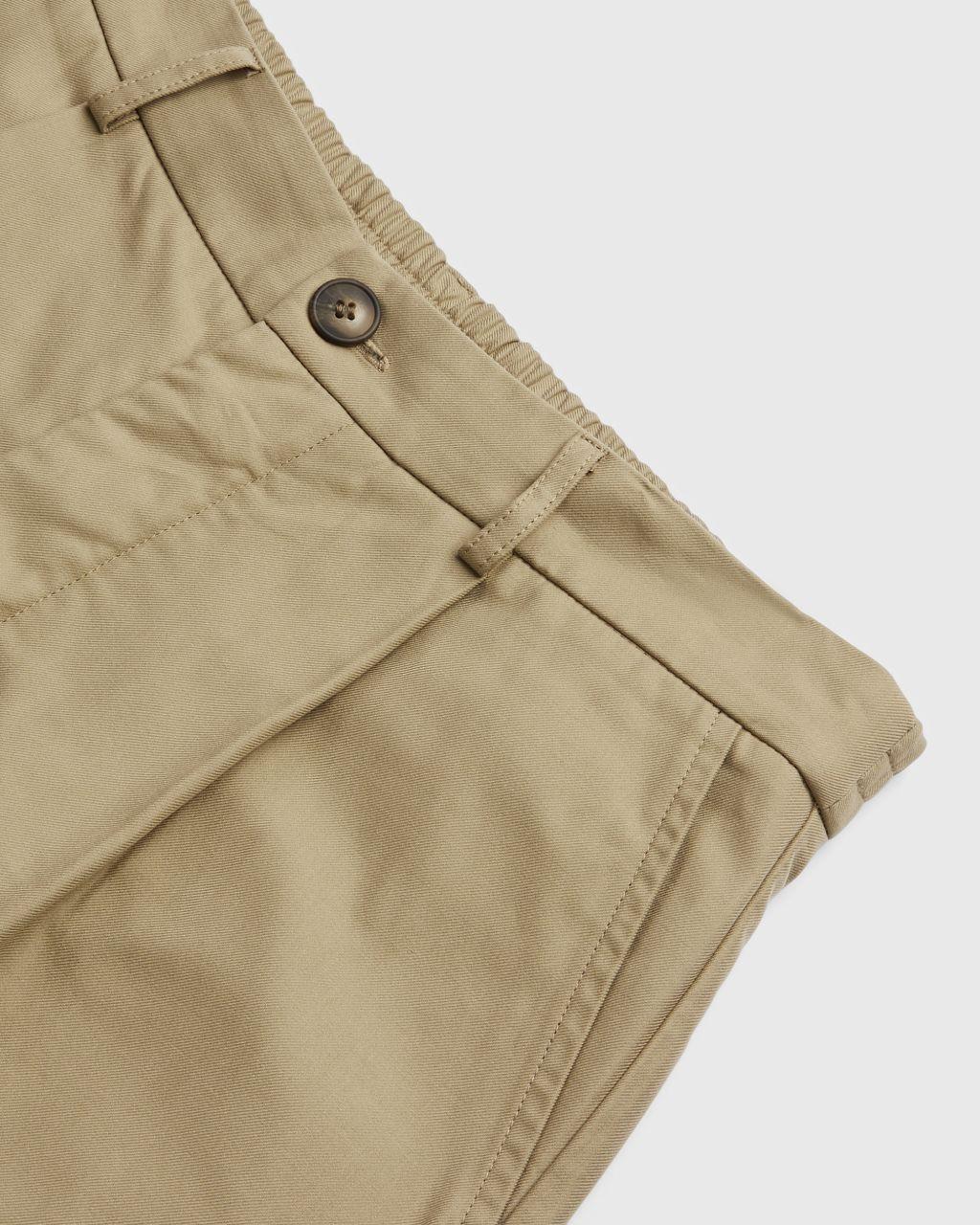 Pleated Elasticated Trouser