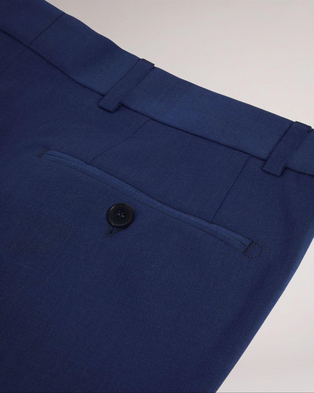 Slim Fit Plain Suit Trouser