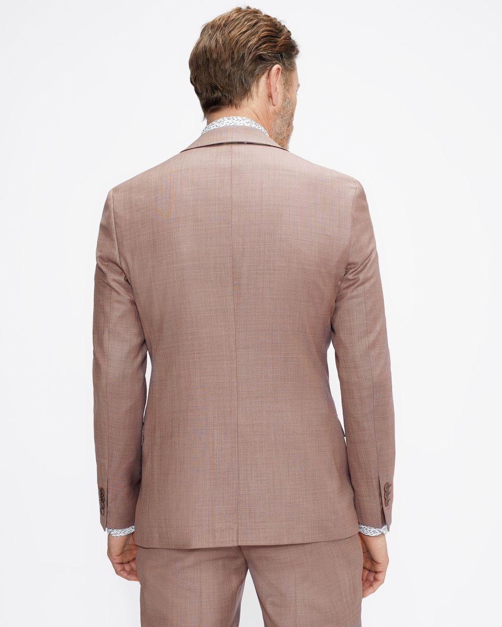 Slim Fit Plain Suit Jacket