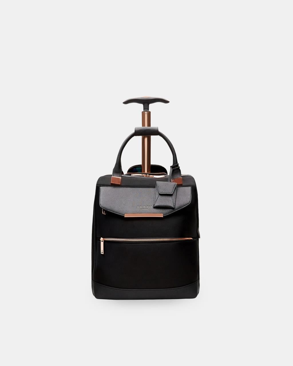 Metallic Trim Travel Bag