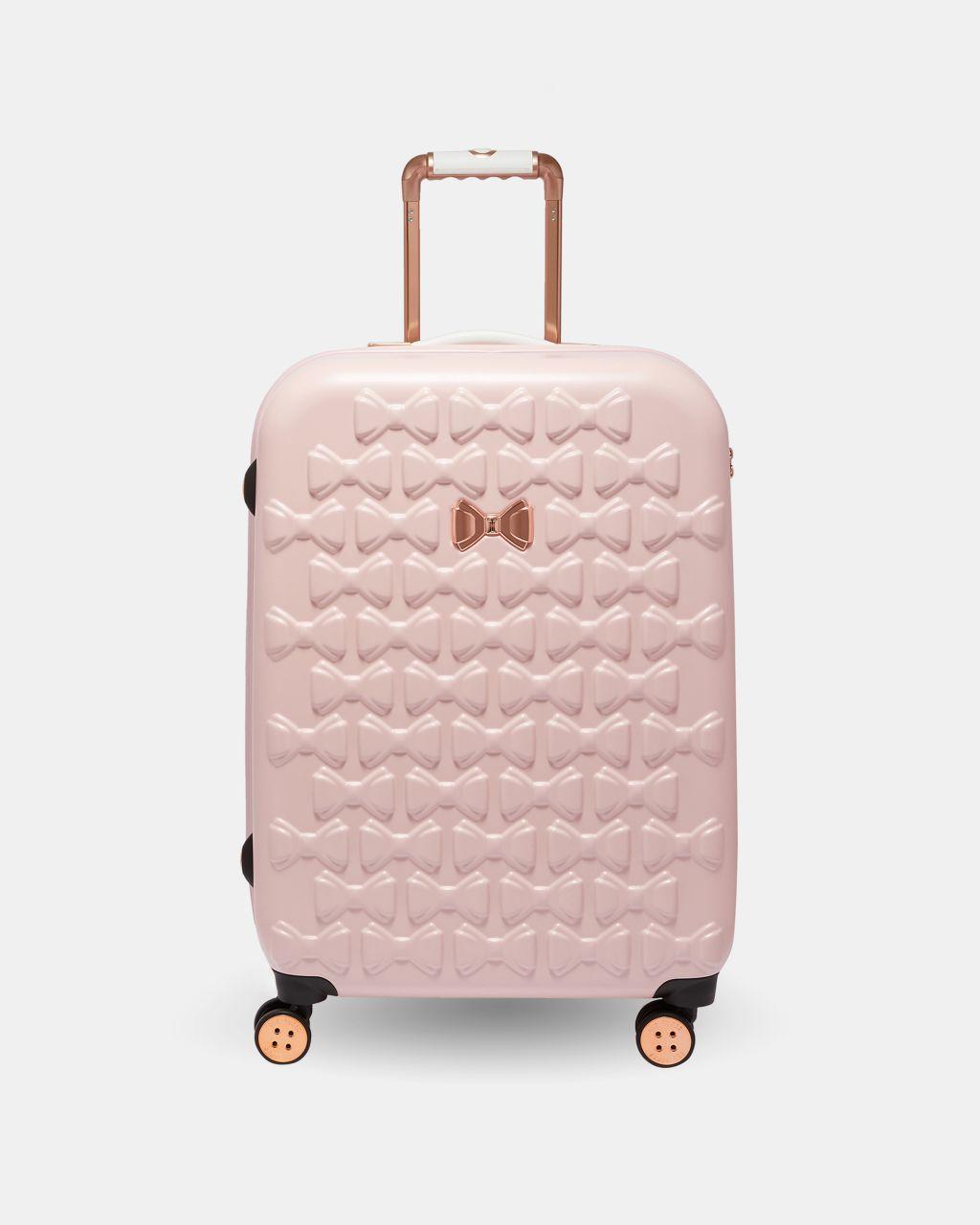 Bow Detail Medium Suitcase