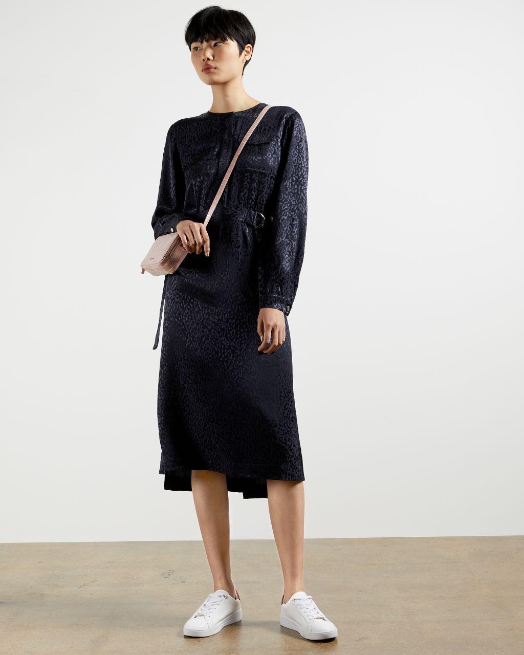 TED BAKER Kleid Mit Tierjacquardmuster   TED BAKER SALE