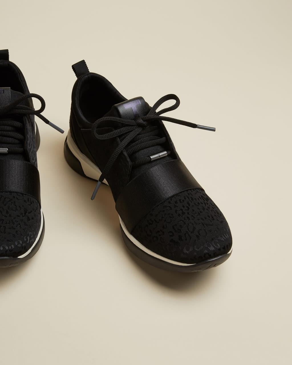 TED BAKER Sneakers Aus Jacquard Mit Leopardenprint   TED BAKER SALE