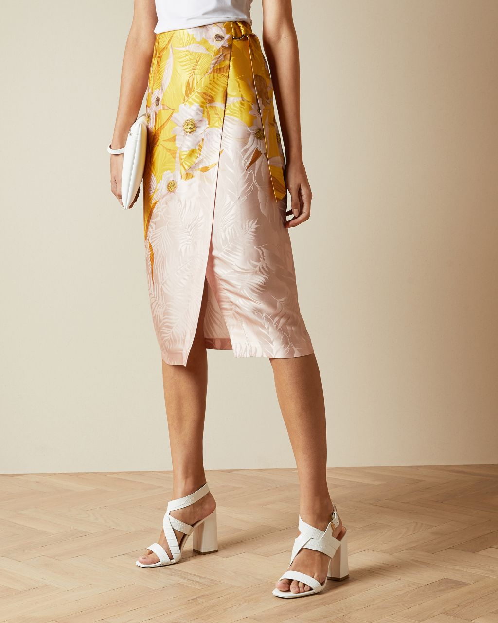 TED BAKER Wickelrock Mit Cabana-print | TED BAKER SALE