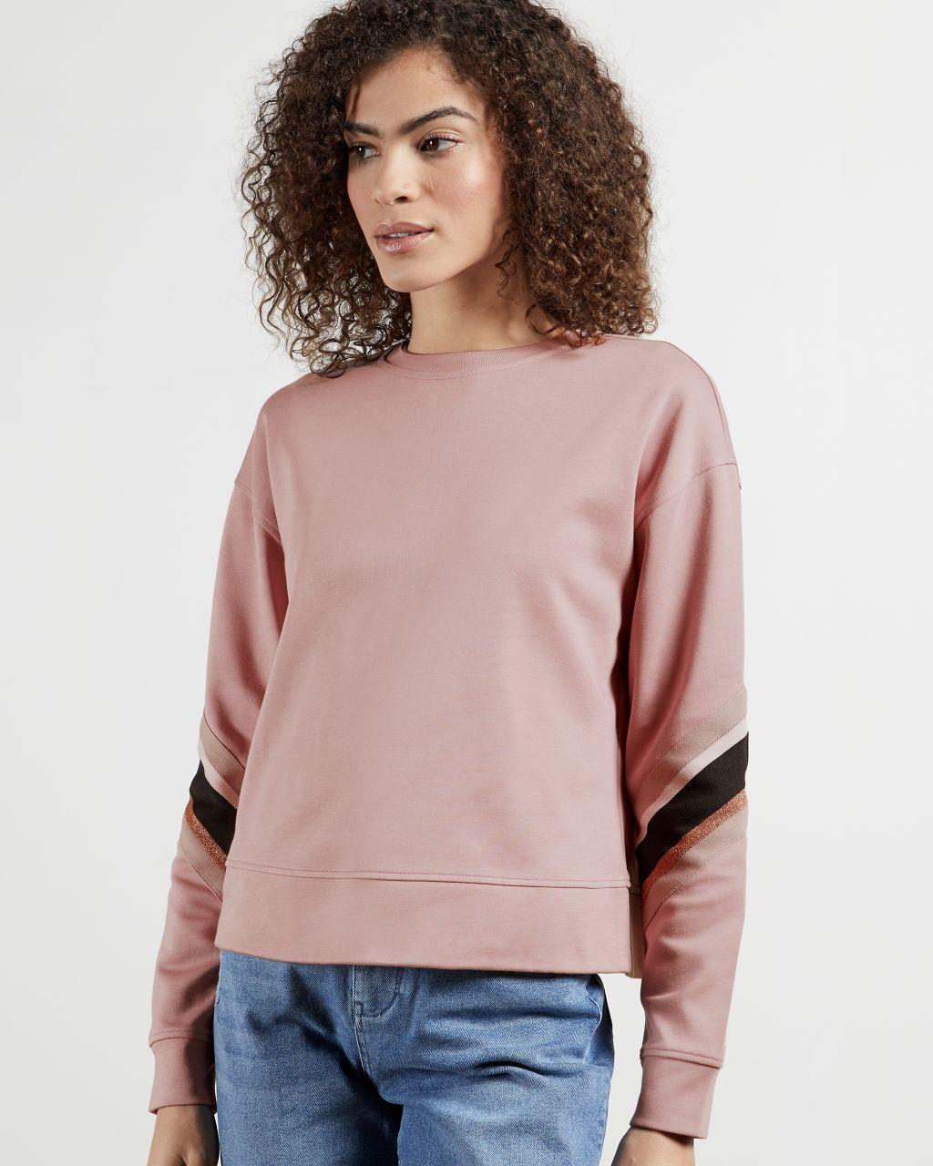 Sweatshirt Avec Rayures