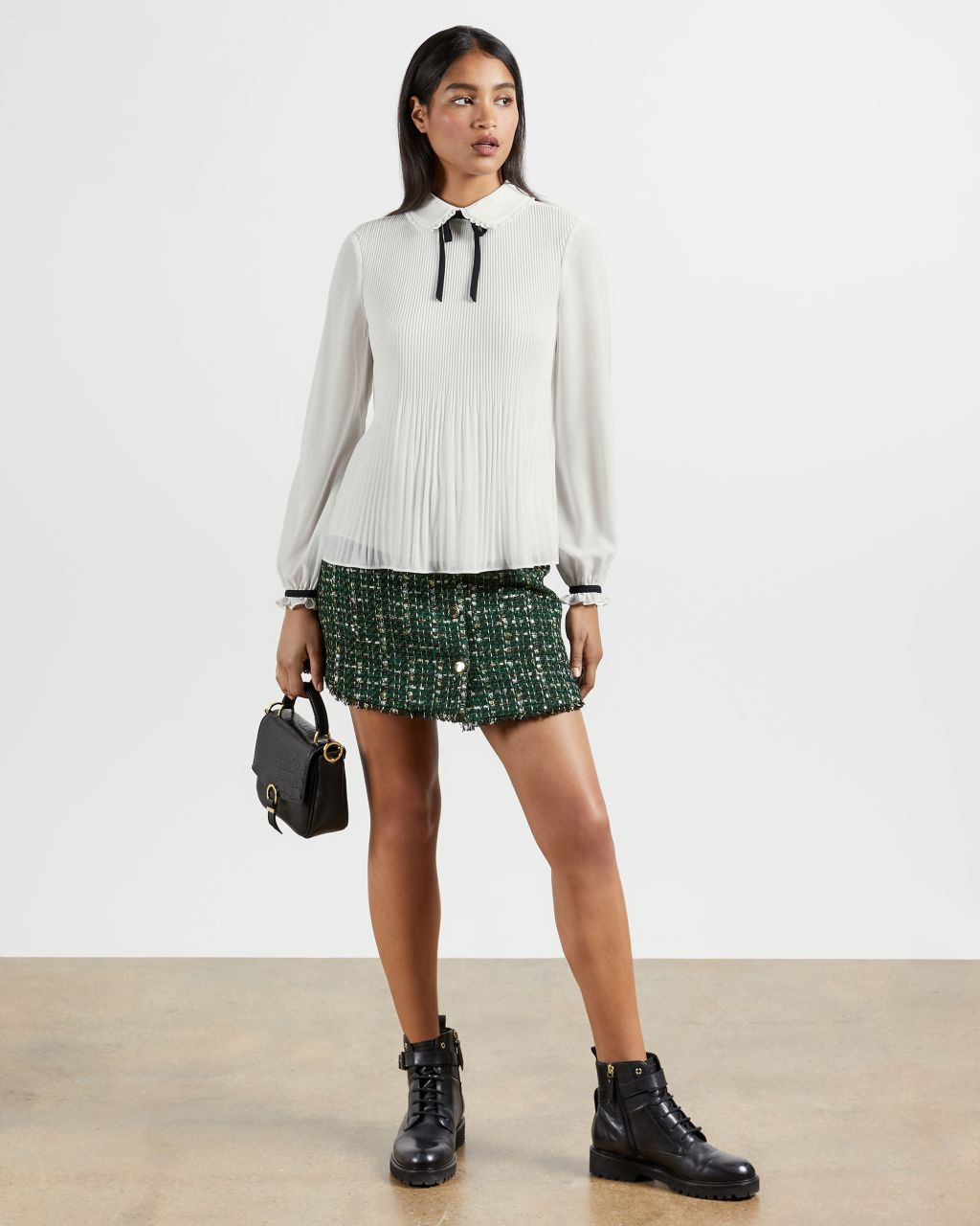 TED BAKER Micro Pleat Top | TED BAKER SALE