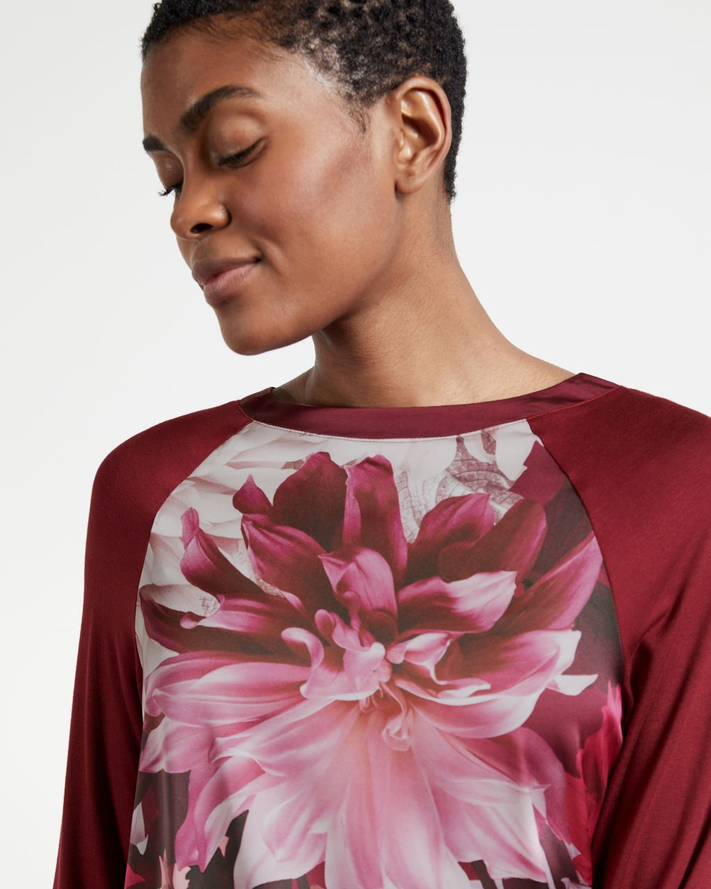 TED BAKER Clove Long Sleeve Jersey Top   TED BAKER SALE