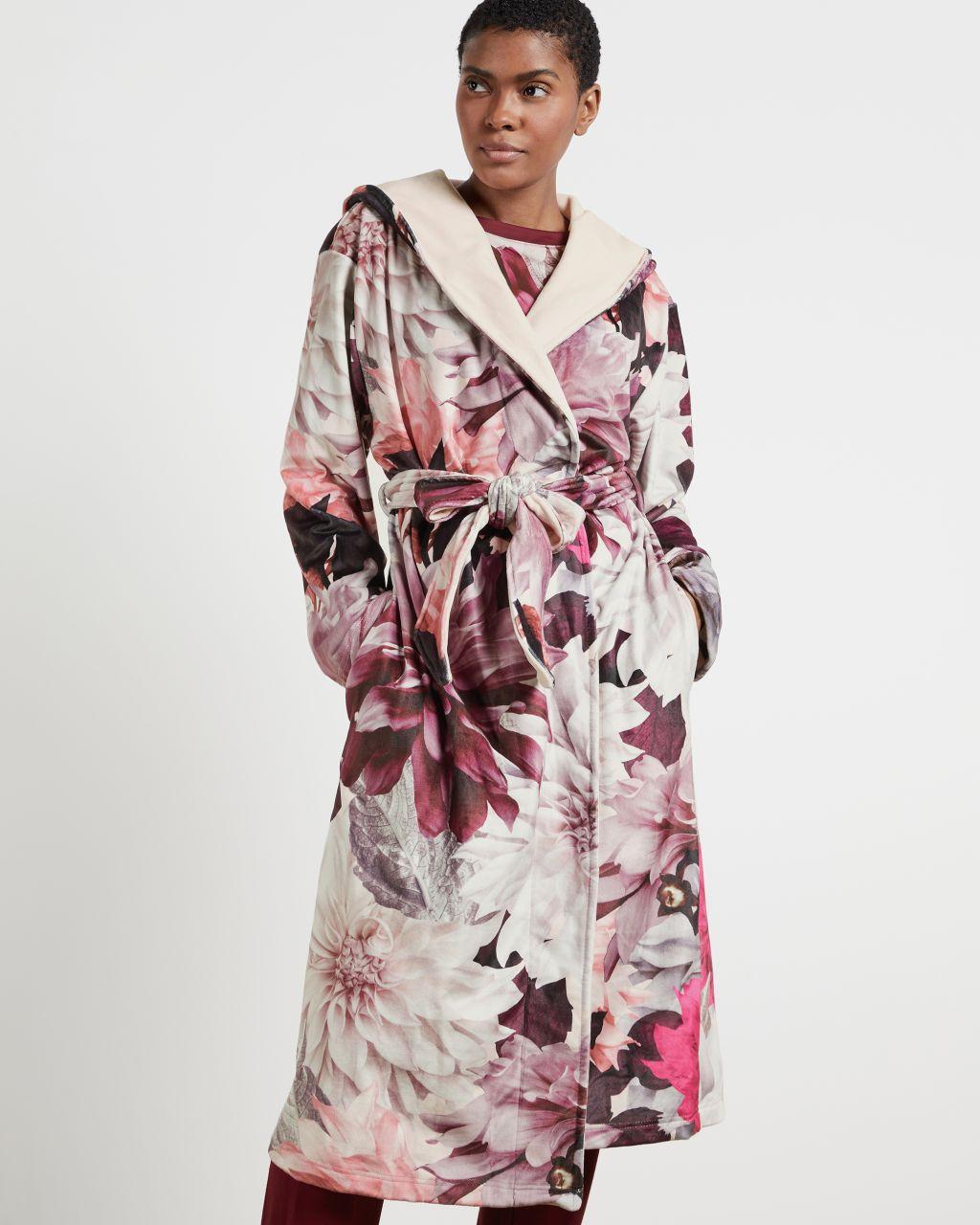TED BAKER Clove Print Long Robe | TED BAKER SALE
