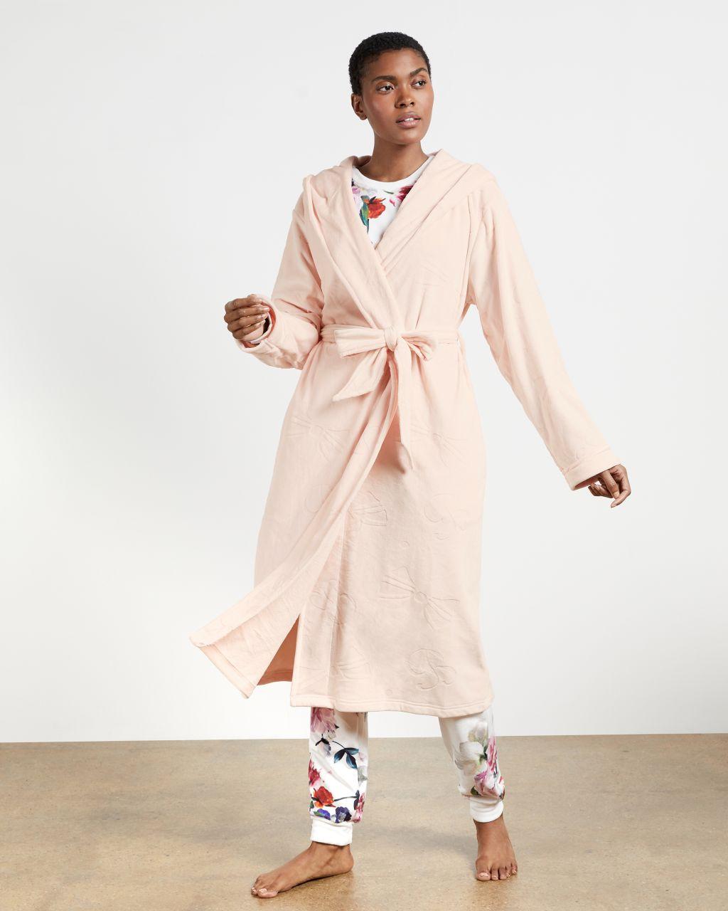 TED BAKER Clove Long Embossed Robe | TED BAKER SALE