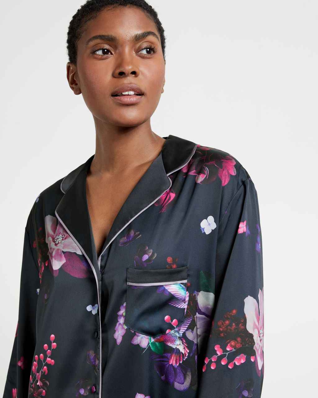 TED BAKER Pomegranate Satin Shirt | TED BAKER SALE