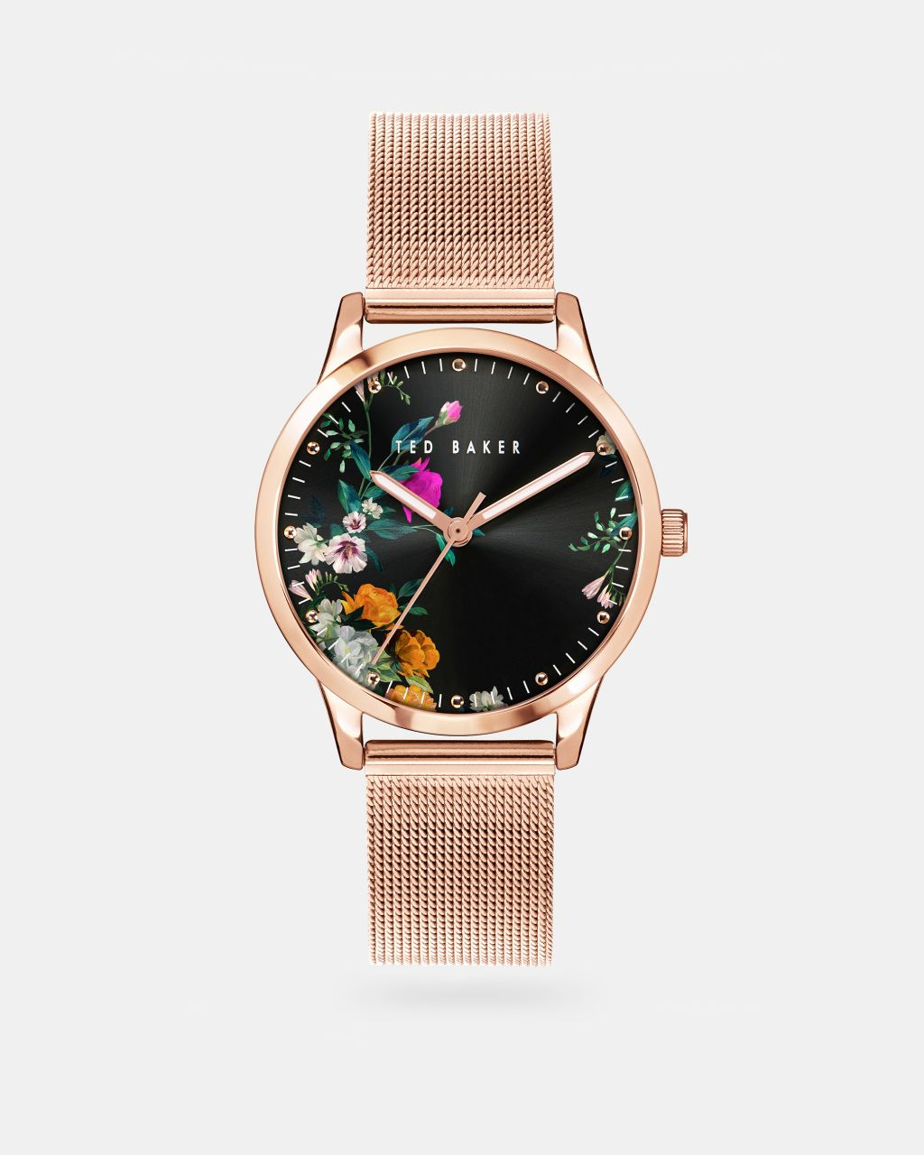 TED BAKER Bkpfzs116 Fitrovia Printed Mesh Detail Watch | TED BAKER SALE