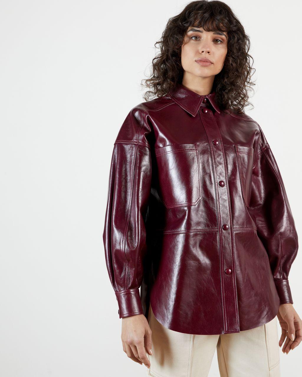 Leather Shacket