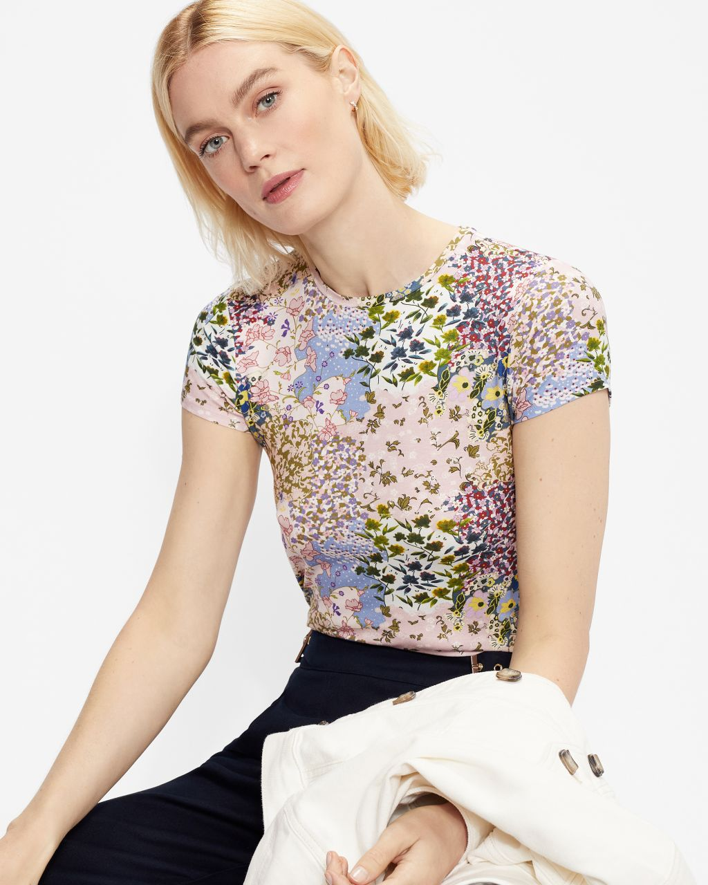 TED BAKER Topiary Tee   TED BAKER SALE