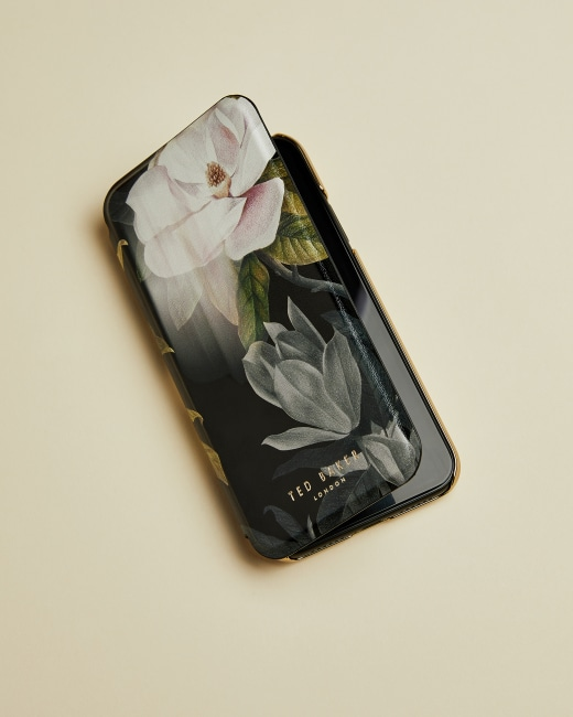 Cover iPhone XR Book - Black
