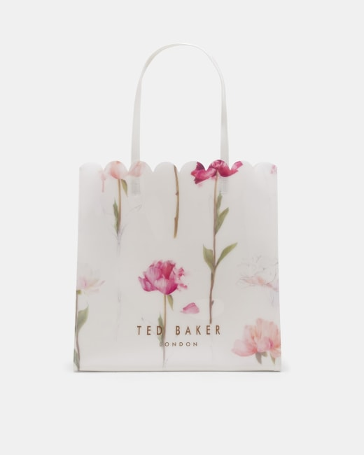 ATED514 Black Ted Baker Soft Touch Arboretum Floral 192 Lined Page A5 Notebook