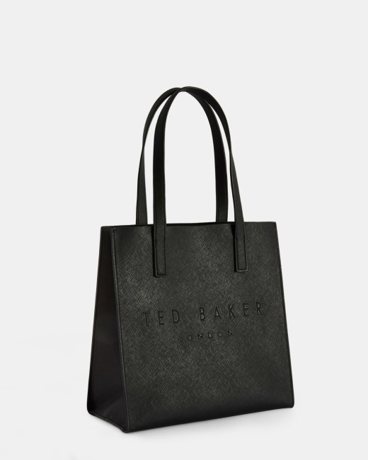 Crosshatch small icon bag Black | Bags | Ted Baker UK