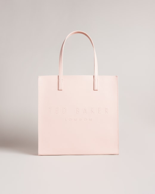 Crosshatch large icon bag Pink | Bags | Ted Baker UK