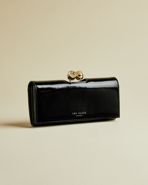 Patent bobble matinee purse Black   Purses   Ted Baker ROW
