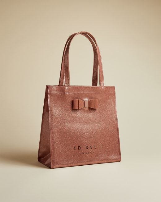 ted baker rose gold bag and shoes
