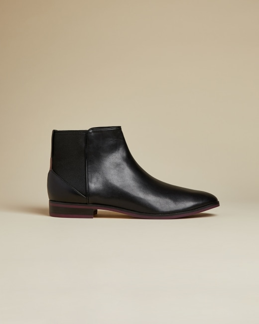 Leather Chelsea boots - Black | Shoes