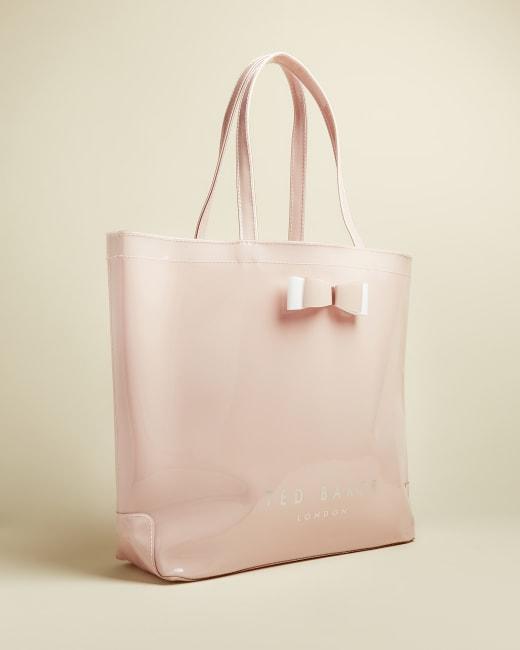 Ted Baker NEW PVC Birds Mistletoe Kiss Large Print Shopper Icon Bag