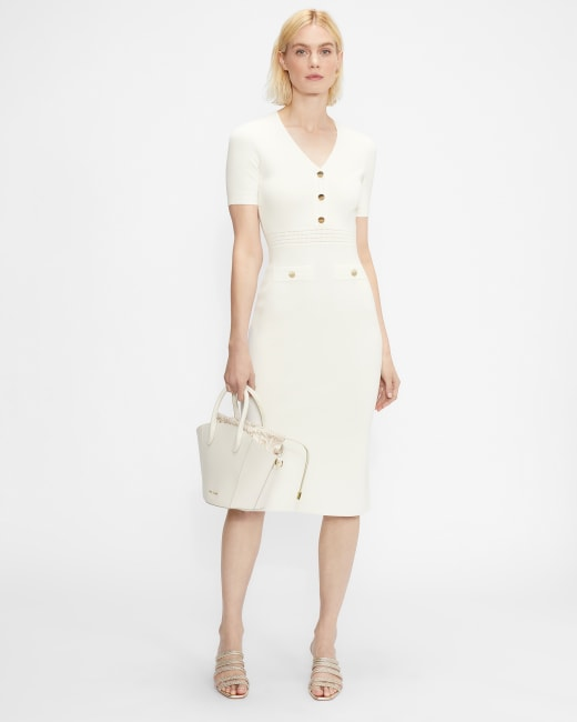 Knitted Utility Midi Dress | Ted Baker (US)
