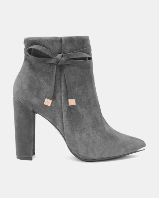 ted baker ankle boots suede women