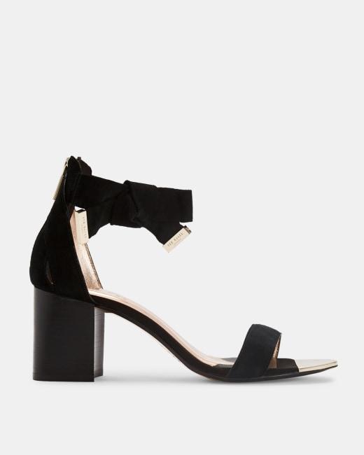 black block heels uk