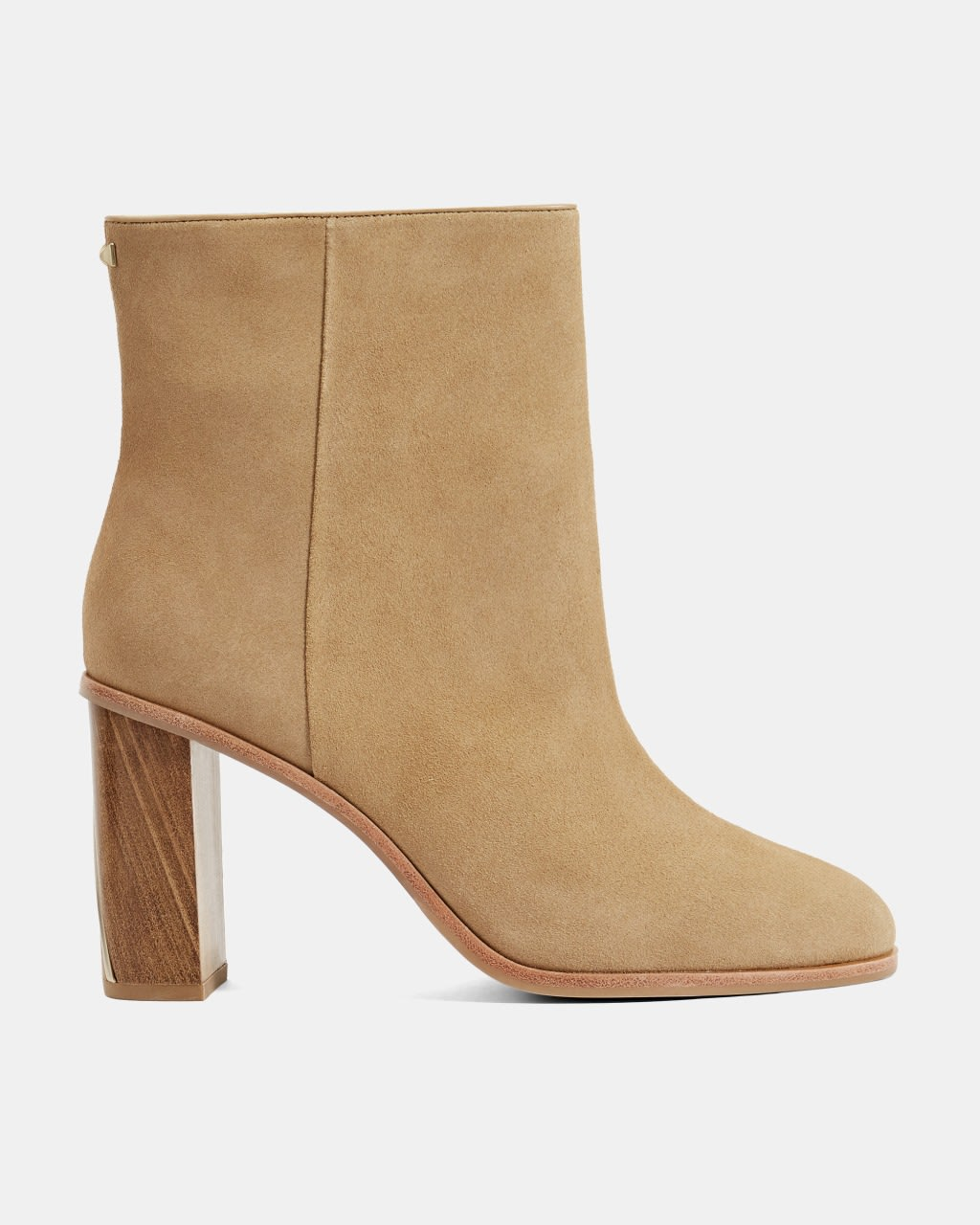 TB Suede Ankle Boots