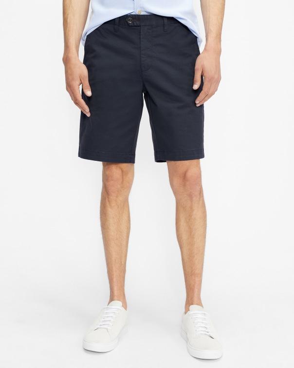 테드 베이커 Ted Baker Cotton chino shorts,navy
