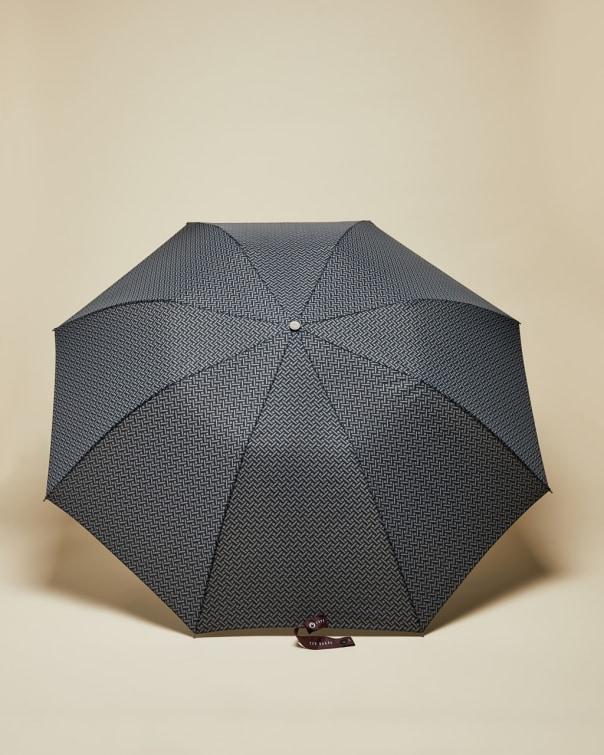 테드 베이커 우산 Ted Baker Geo print umbrella,navy